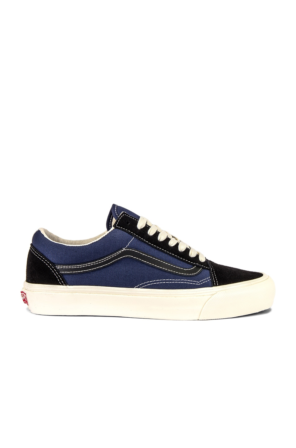 Image 1 of Vans Vault OG Old Skool LX in Black & Insignia Blue
