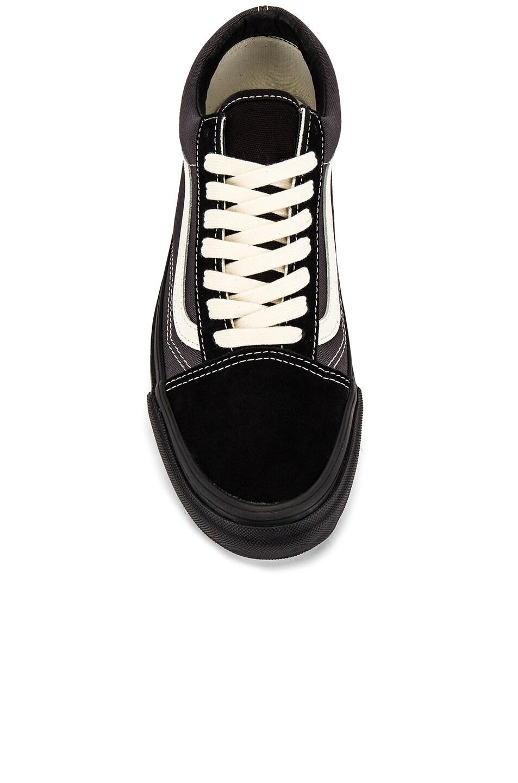 Image 4 of Vans Vault OG Old Skool LX in Black & Forged Iron