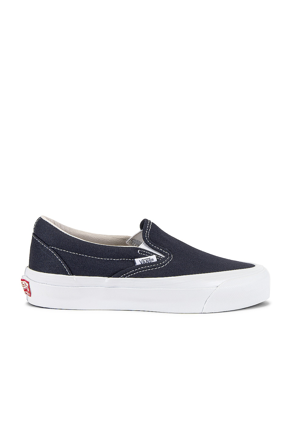 Image 1 of Vans Vault OG Classic Slip-On LX in Navy
