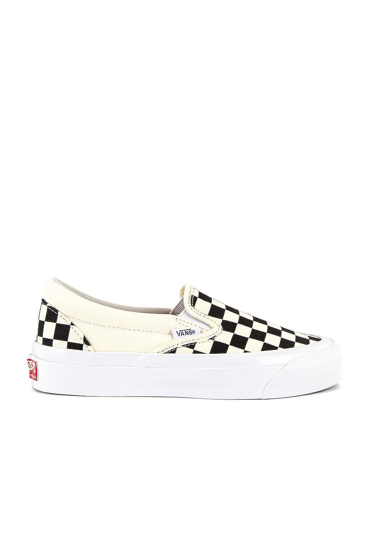 Image 1 of Vans Vault OG Classic Slip-On LX in Checkerboard