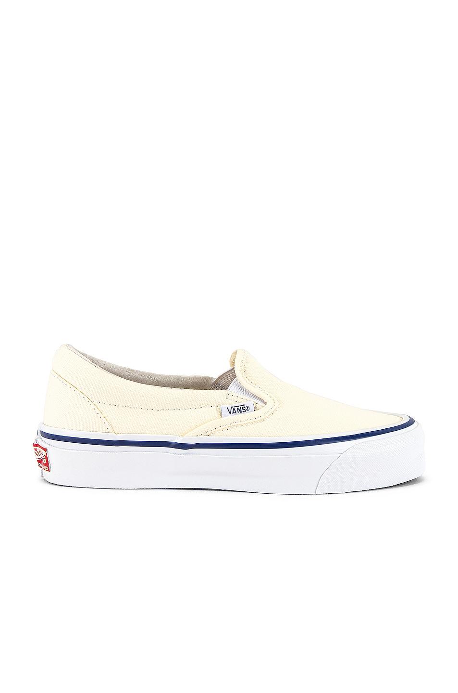 Image 1 of Vans Vault OG Classic Slip-On LX in Classic White