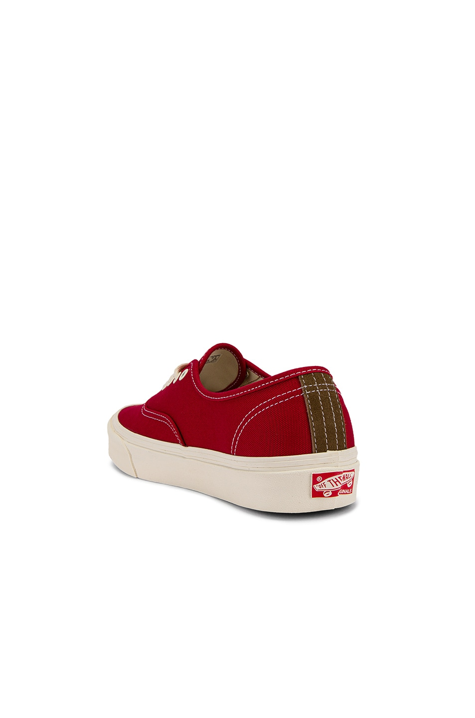 Image 3 of Vans Vault OG Authentic LX in Chili Pepper & Teak
