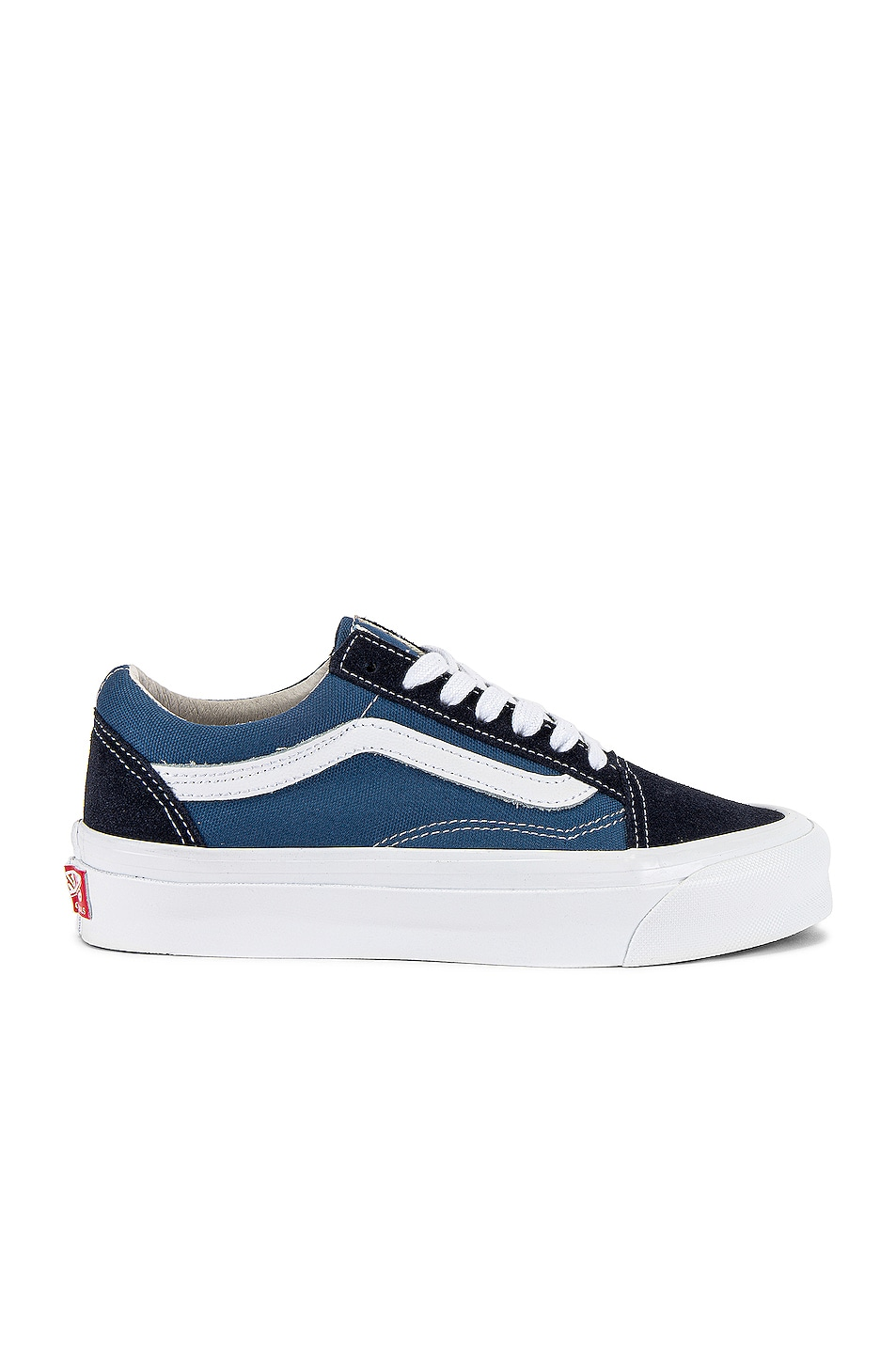 Image 1 of Vans Vault OG Old Skool LX in Navy & STV Navy