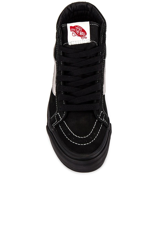 Image 4 of Vans Vault OG Sk8-Hi LX in Black & Ash