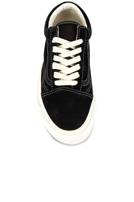 Image 4 of Vans Vault OG Old Skool LX in Raven & Black