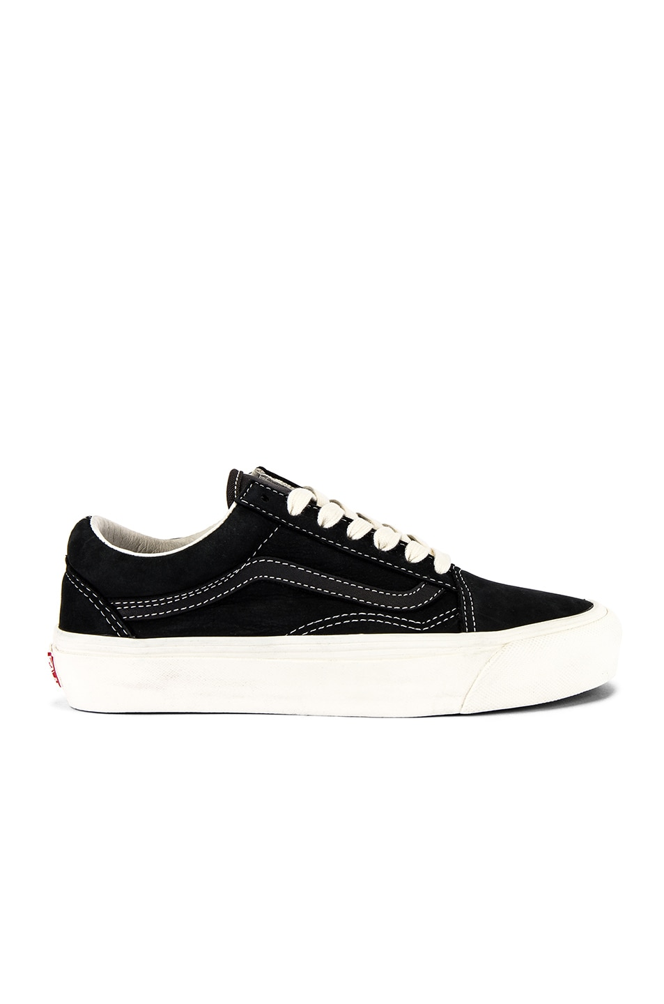 Image 1 of Vans Vault OG Old Skool LX in Raven & Black