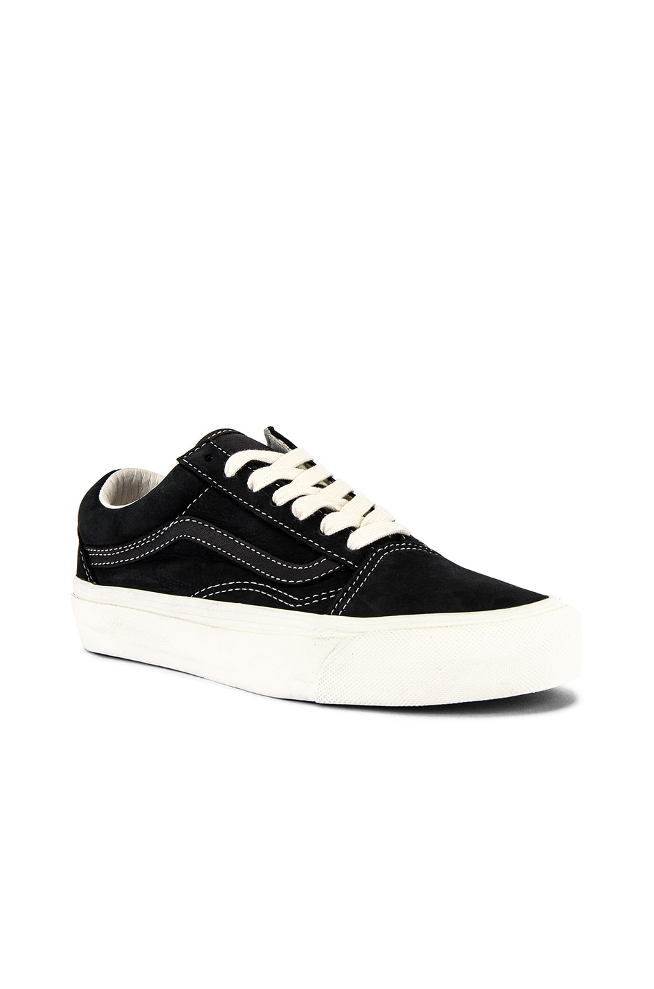 Image 2 of Vans Vault OG Old Skool LX in Raven & Black