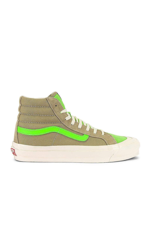 Image 1 of Vans Vault OG Style 138 LX in Eucalyptus & Green Gecko