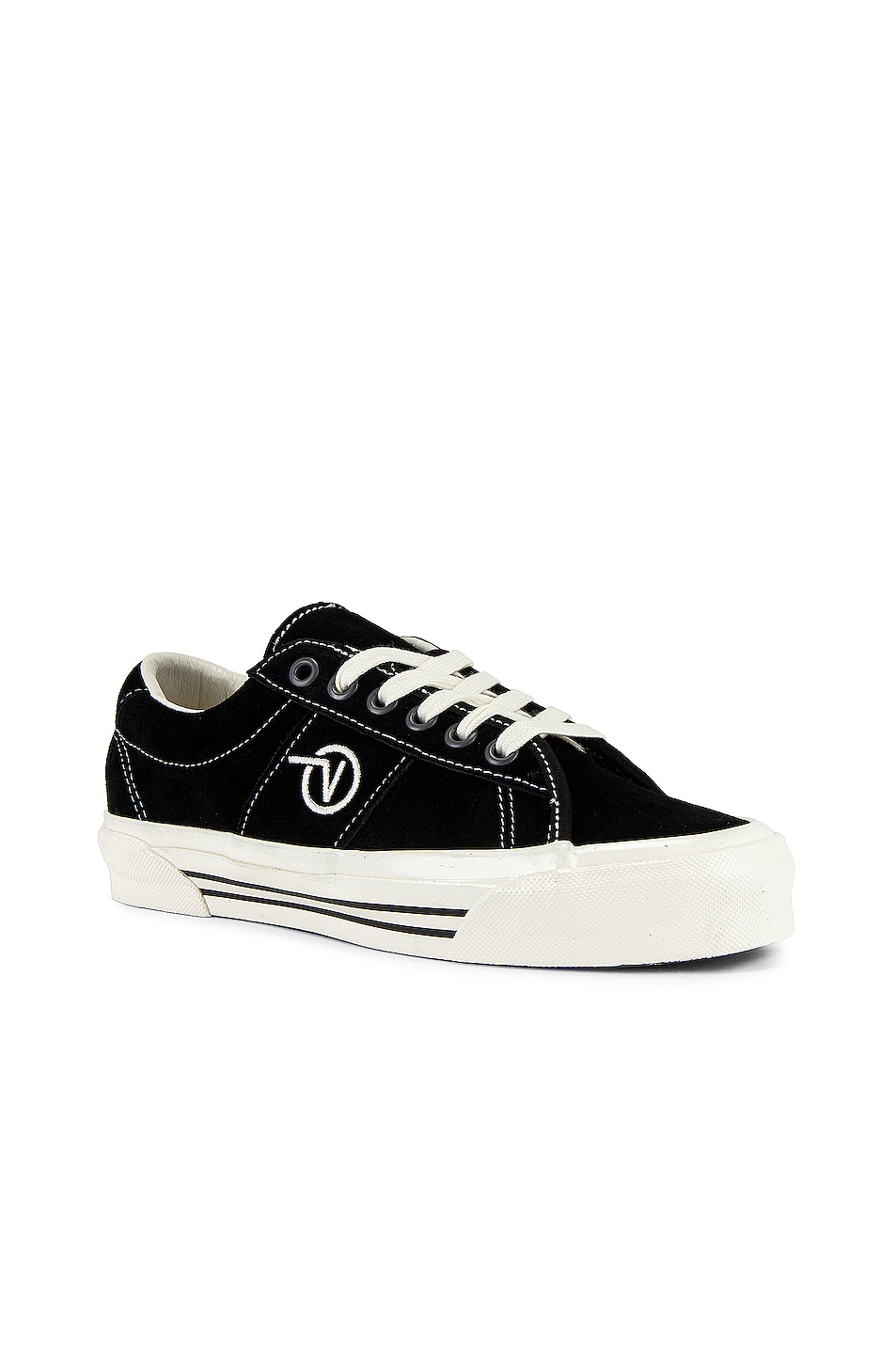 Image 1 of Vans Vault OG Sid LX in Black & Marshmallow