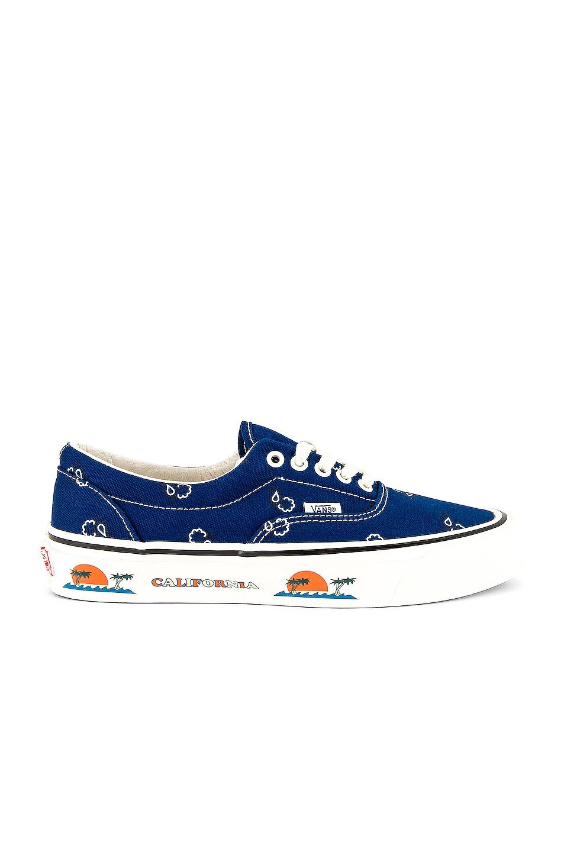 Image 1 of Vans Vault OG Era LX in True Blue & White
