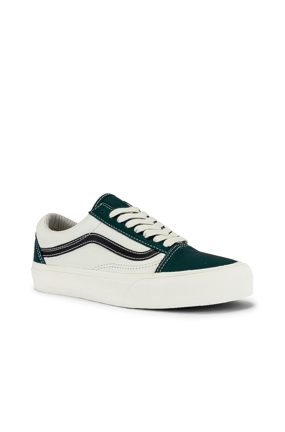 Image 1 of Vans Vault Old Skool VLT LX in Evergreen & Marshmallow