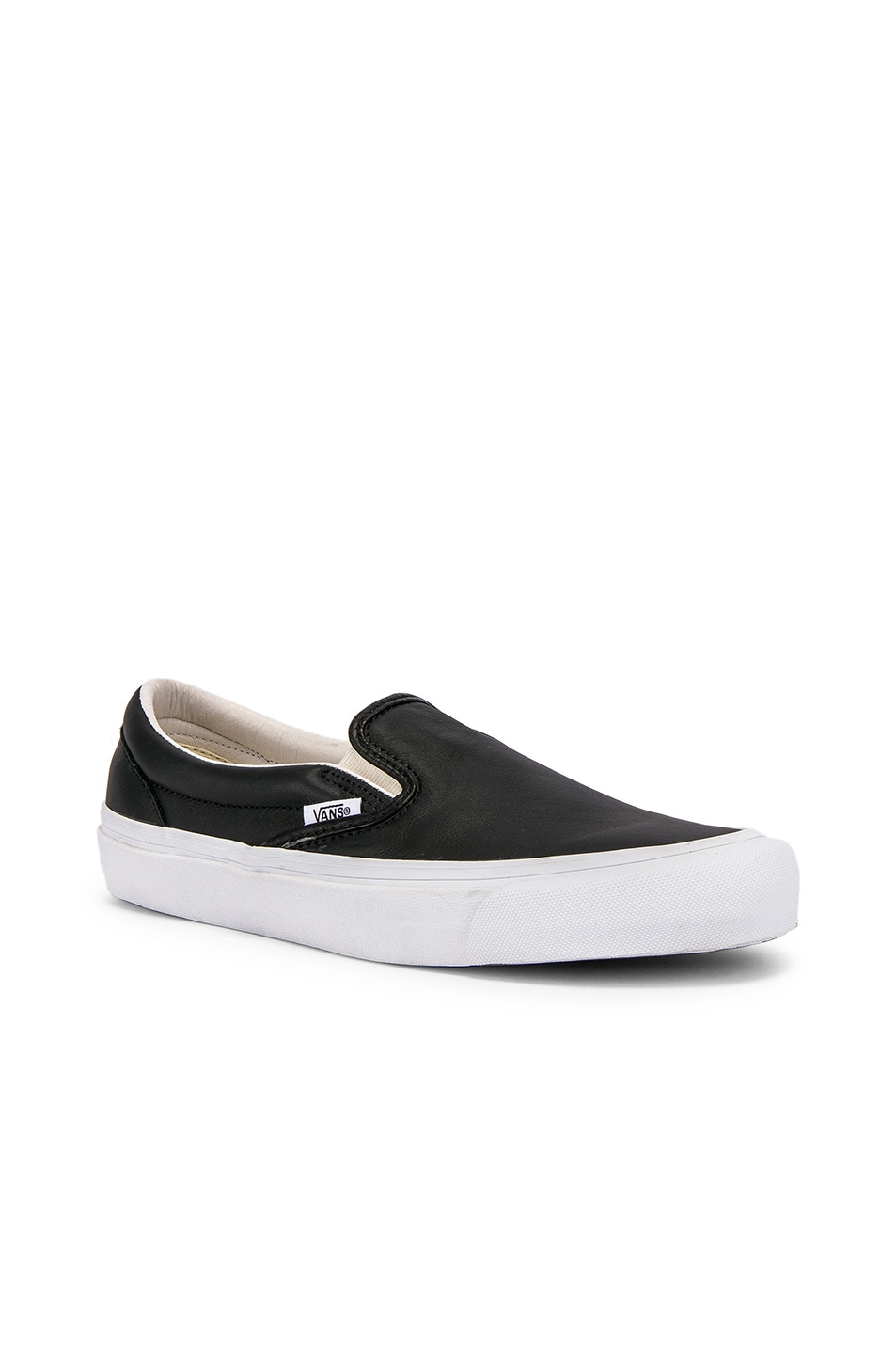 Image 1 of Vans Vault OG Classic Slip-On LX in Black