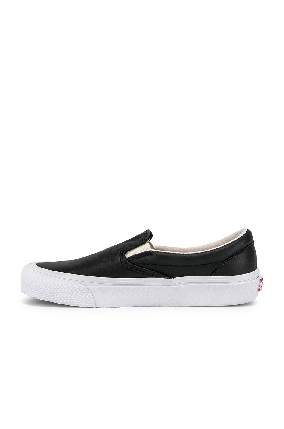 Image 5 of Vans Vault OG Classic Slip-On LX in Black