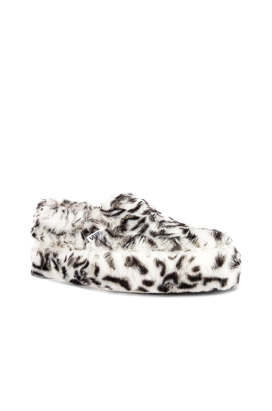 Image 1 of Vans x Sandy Liang Classic Slip-On Platform in Paws & True White