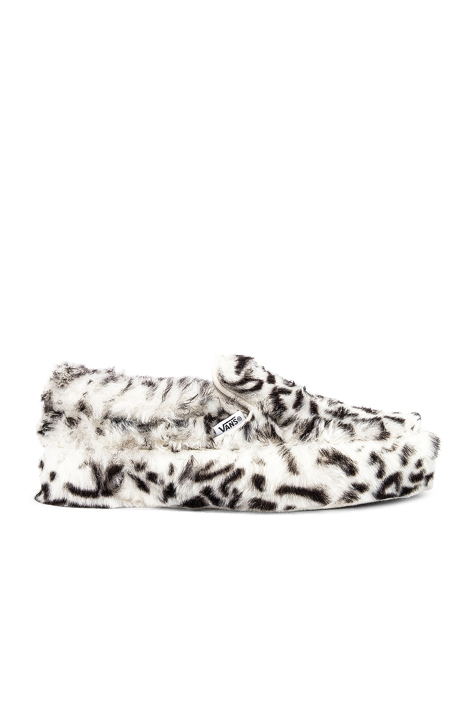 Image 2 of Vans x Sandy Liang Classic Slip-On Platform in Paws & True White
