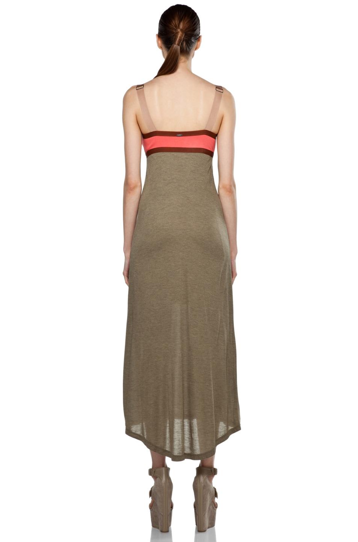 Image 4 of VPL Convexity Breaker Maxi Dress in Shitake