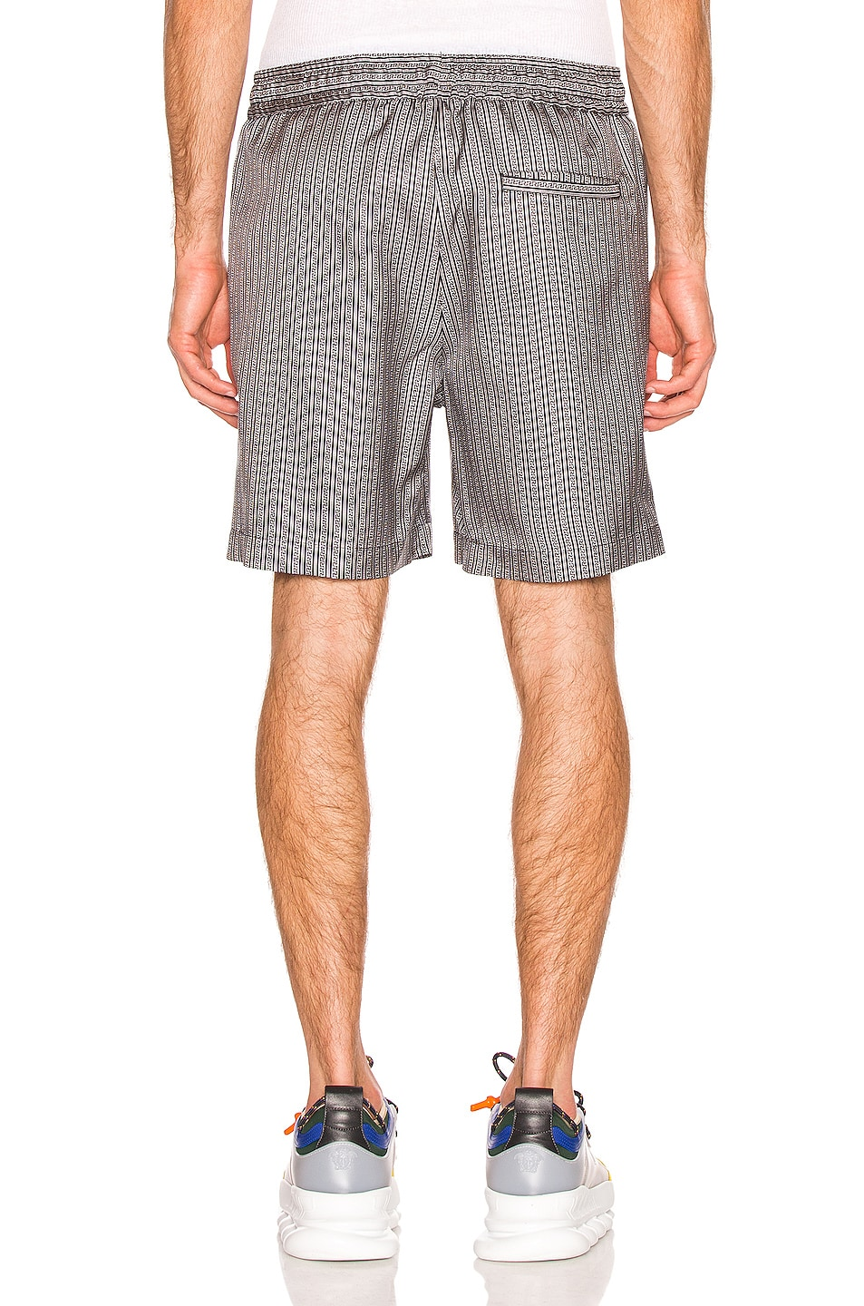 Image 3 of VERSACE Shorts in Black & White