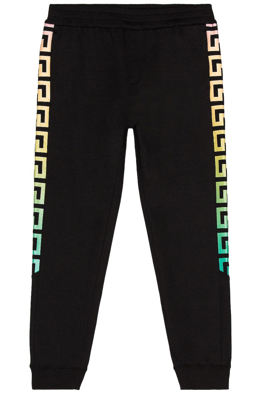 Image 1 of VERSACE Sweatpants in Black