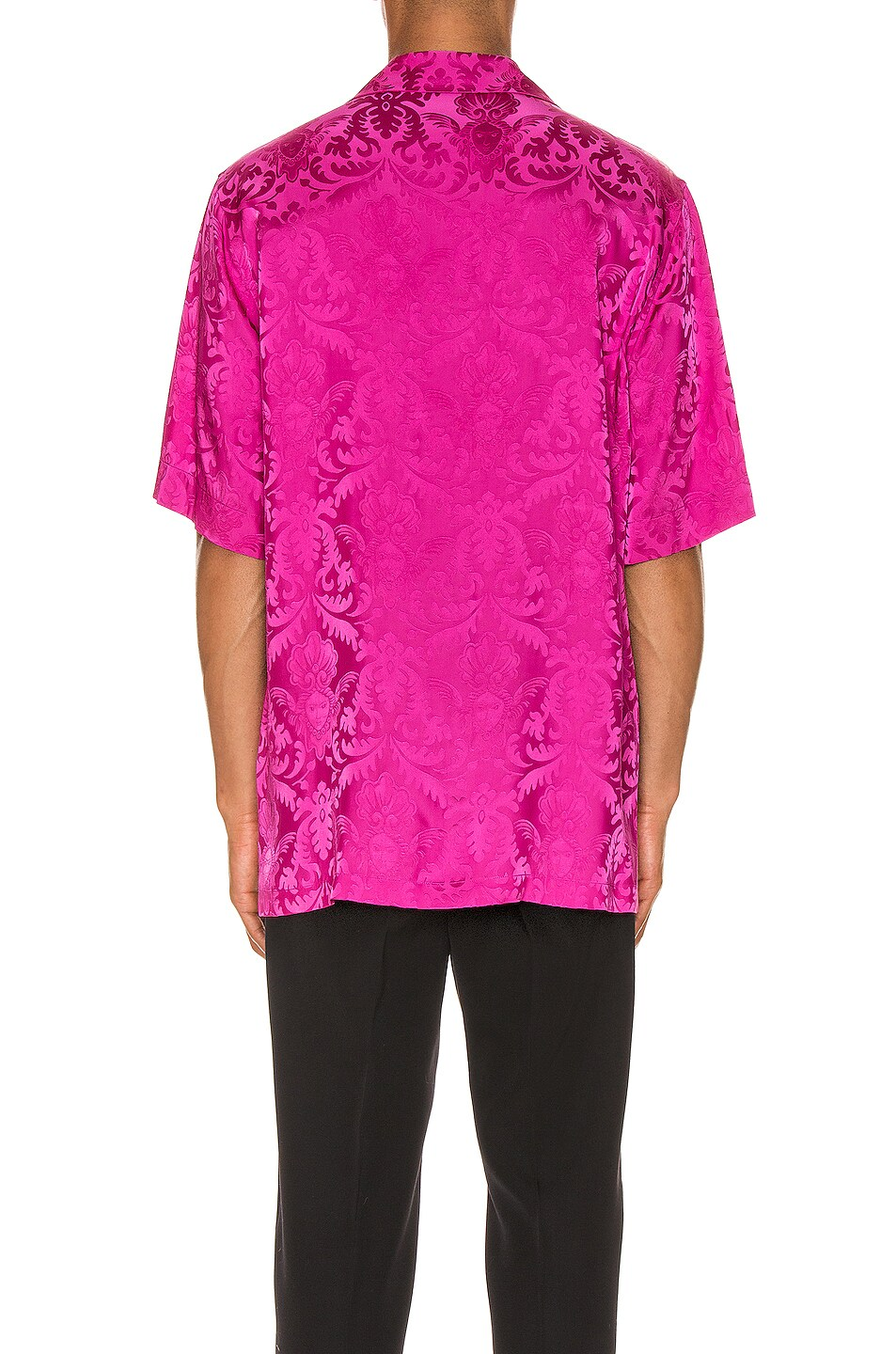 Image 3 of VERSACE Button Up in Fuchsia