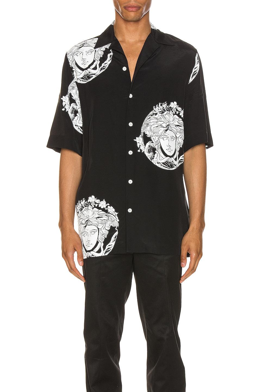 Image 1 of VERSACE Medusa Shirt in Black