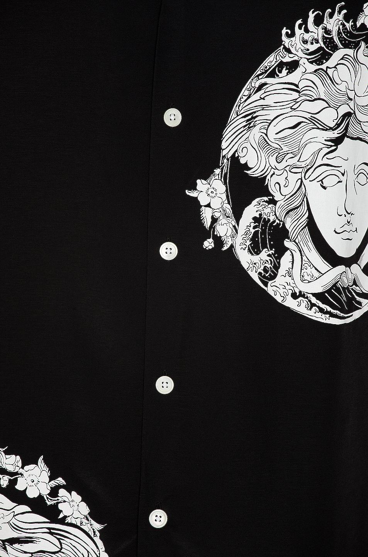 Image 5 of VERSACE Medusa Shirt in Black