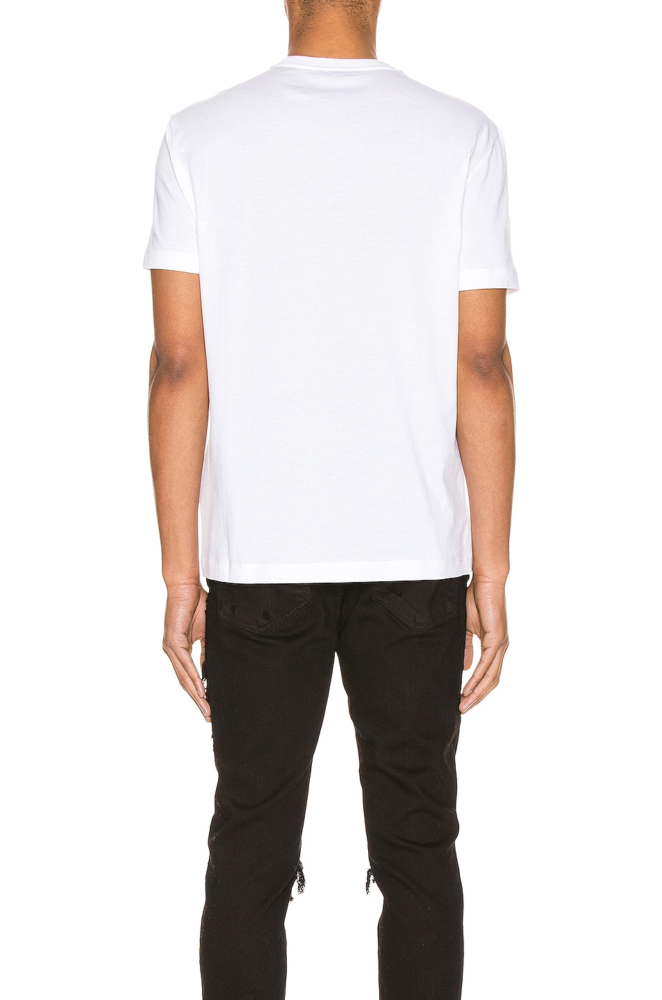 Image 4 of VERSACE Graphic Tee in Optical White