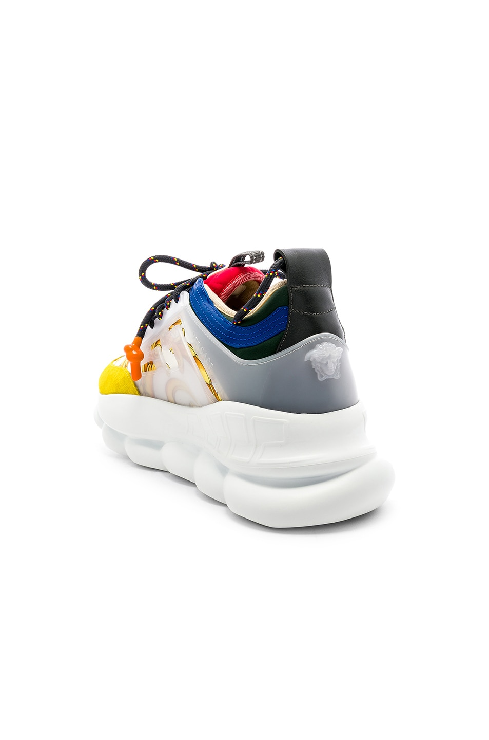 Image 3 of VERSACE Chain Reaction Sneakers in Multi