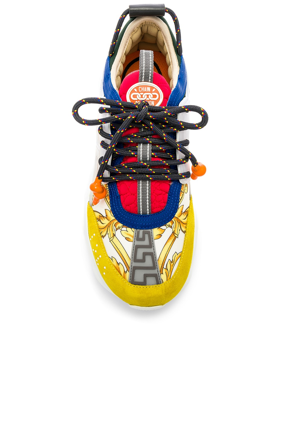 Image 4 of VERSACE Chain Reaction Sneakers in Multi