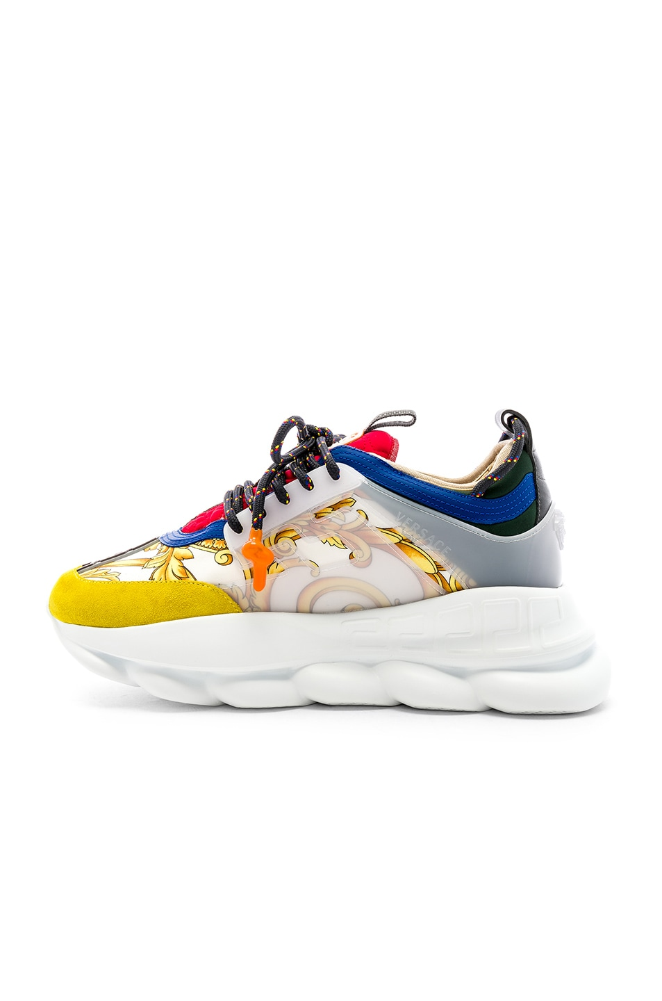 Image 5 of VERSACE Chain Reaction Sneakers in Multi