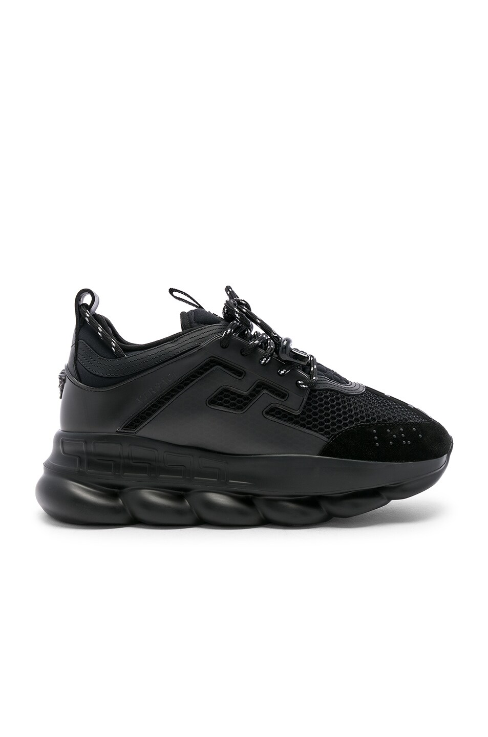 Image 2 of VERSACE Chain Reaction Sneakers in Black