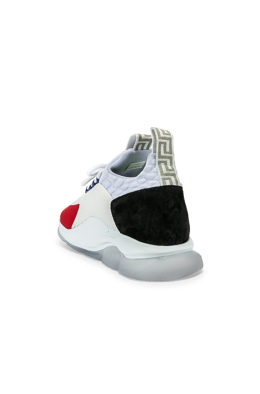 Image 3 of VERSACE Sport Sneakers in Black & Grey & Red