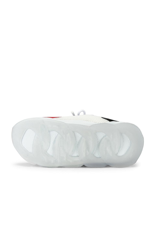 Image 6 of VERSACE Sport Sneakers in Black & Grey & Red