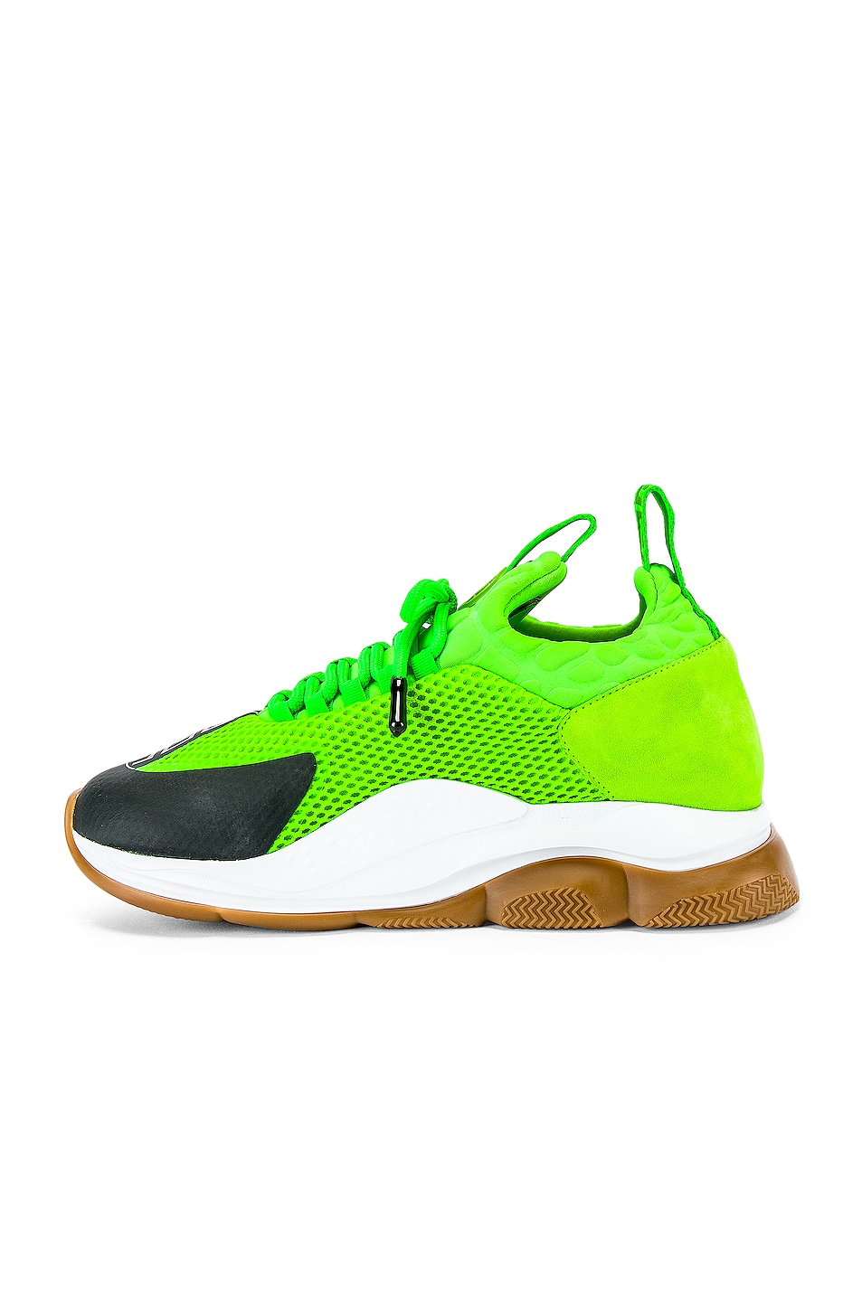 Image 5 of VERSACE Sport Sneakers in Lime & Black