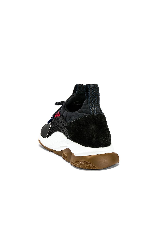 VERSACE Sport Sneakers Navy & Grey 85%OFF