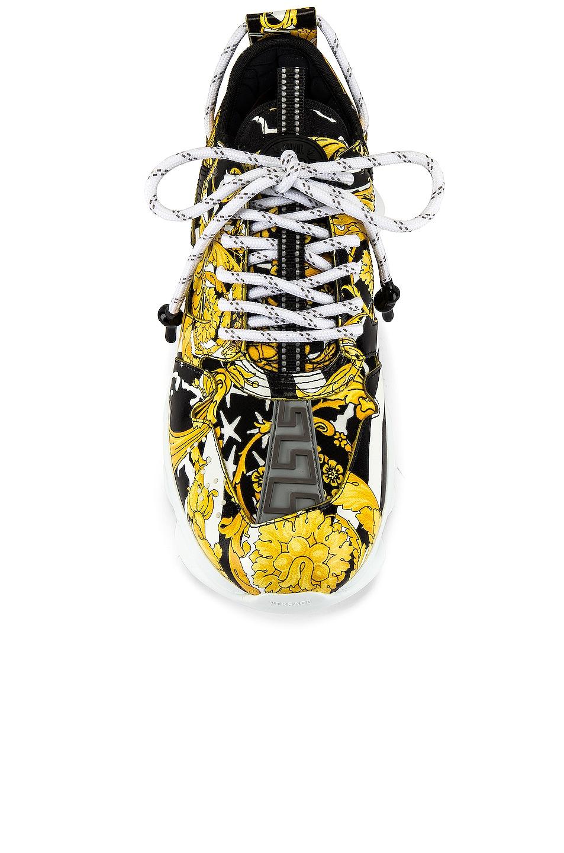 Image 4 of VERSACE Sneaker in Black & Gold
