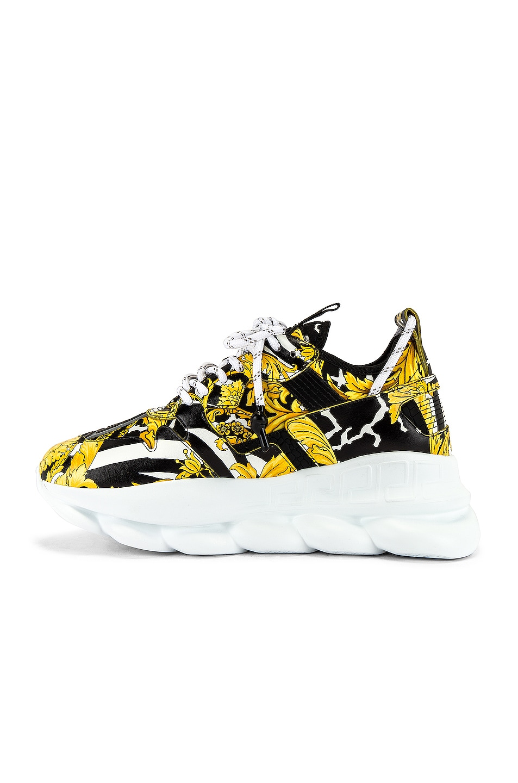 Image 5 of VERSACE Sneaker in Black & Gold