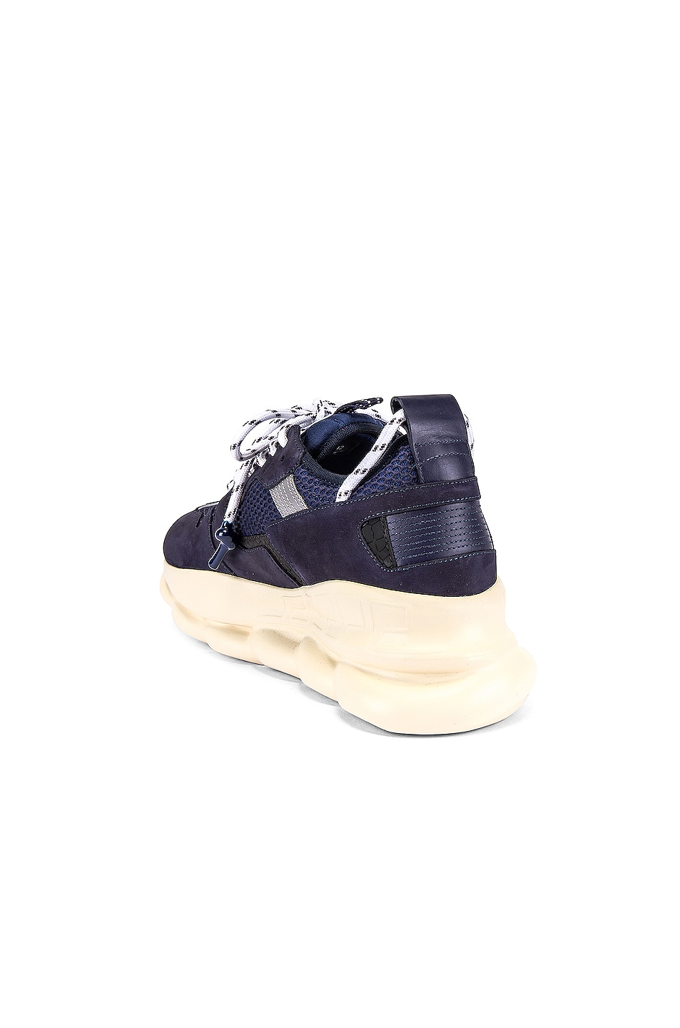 Image 3 of VERSACE Chain Reaction Sneaker in Navy