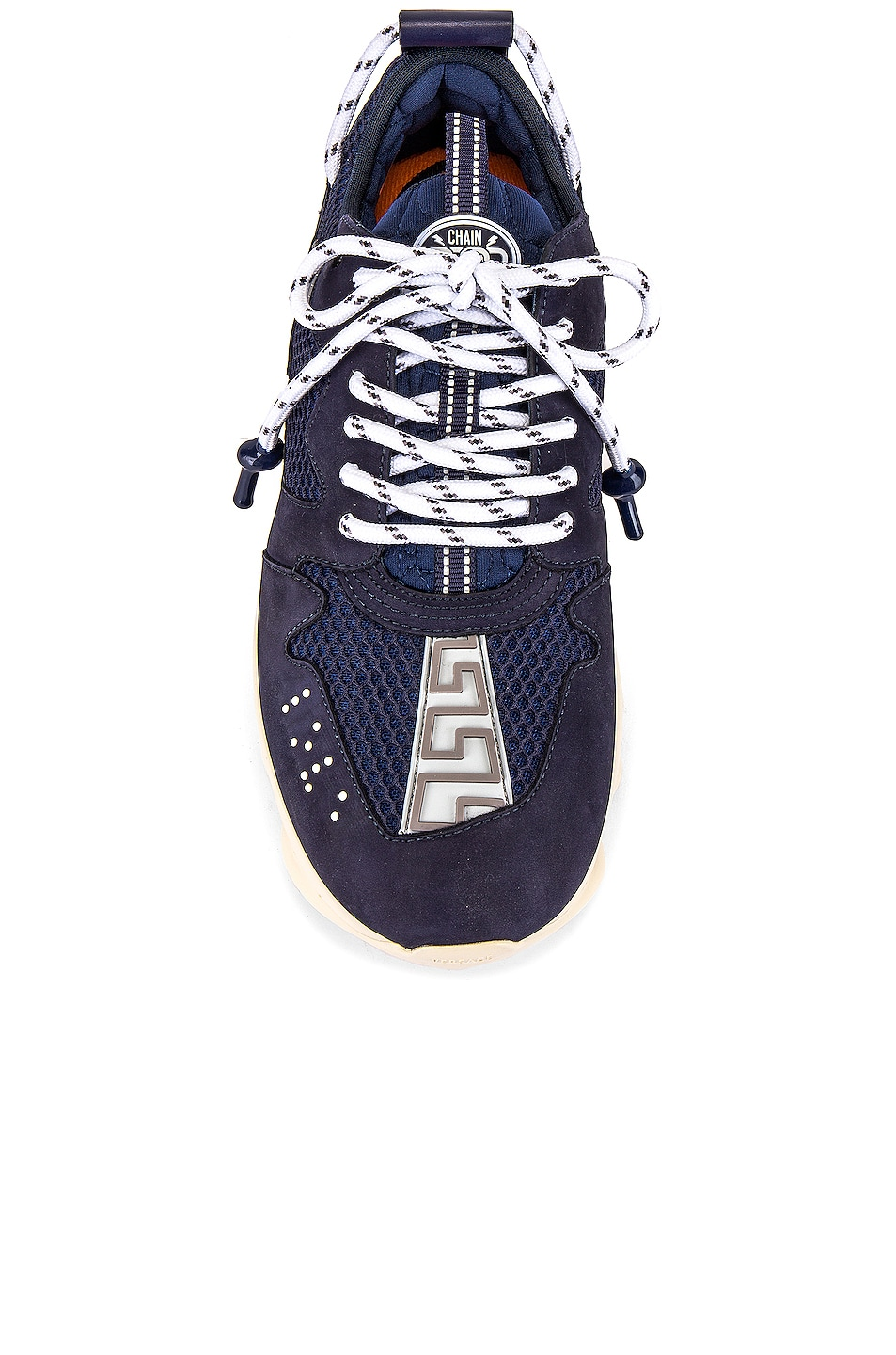 Image 4 of VERSACE Chain Reaction Sneaker in Navy