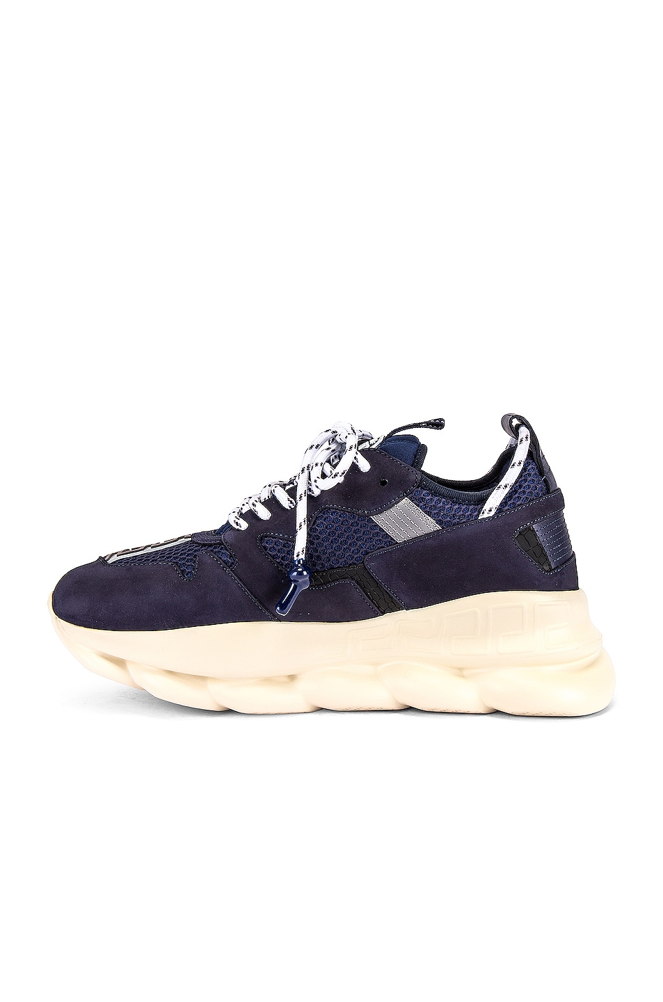 Image 5 of VERSACE Chain Reaction Sneaker in Navy