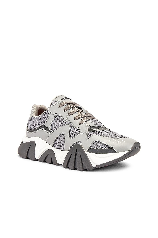 Image 1 of VERSACE Sneaker in Light Grey