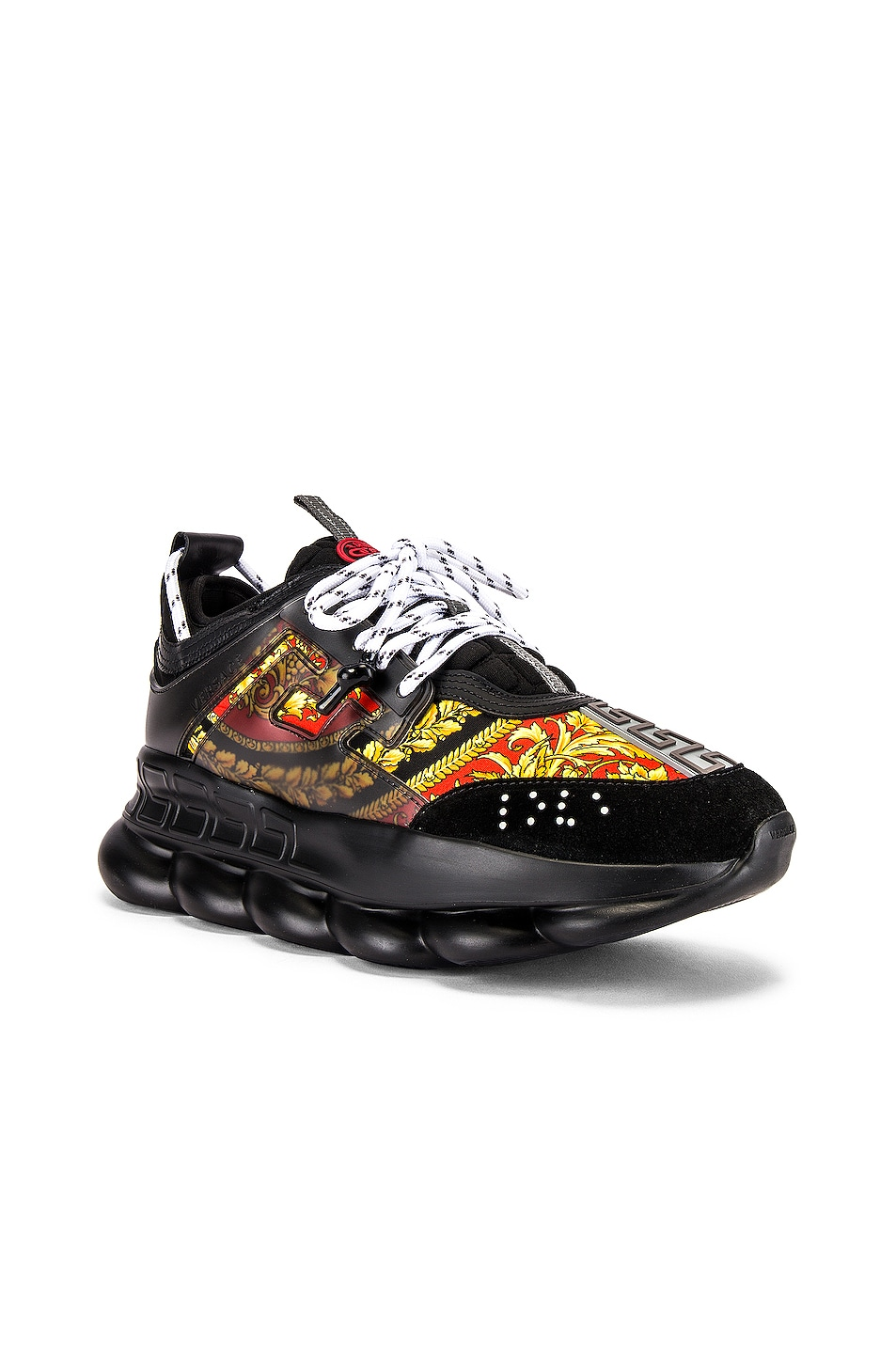 Image 1 of VERSACE Sport Sneaker in Black & Multi