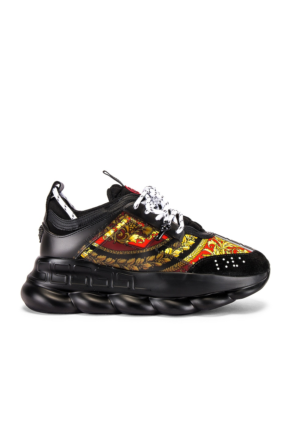 Image 2 of VERSACE Sport Sneaker in Black & Multi