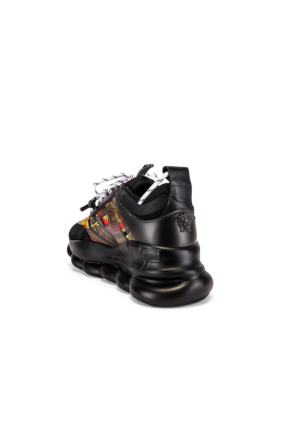 Image 3 of VERSACE Sport Sneaker in Black & Multi