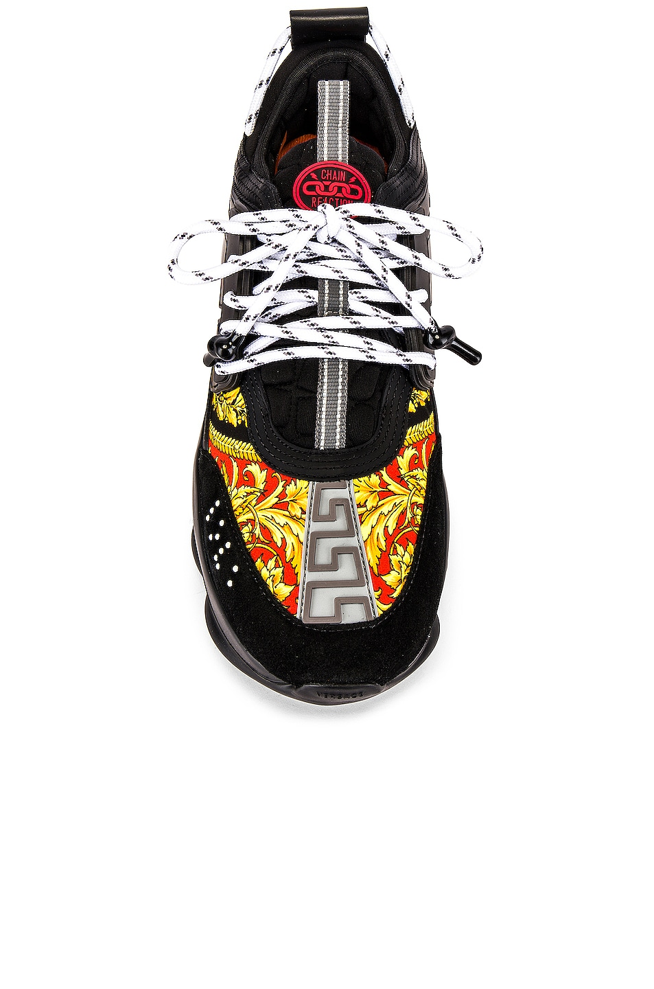 Image 4 of VERSACE Sport Sneaker in Black & Multi