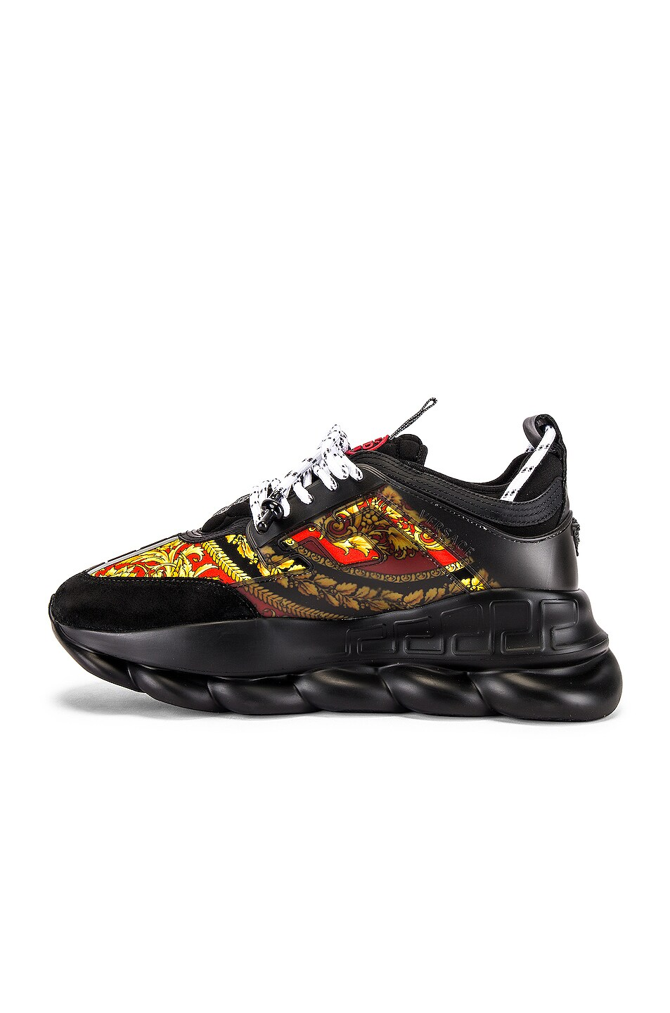 Image 5 of VERSACE Sport Sneaker in Black & Multi