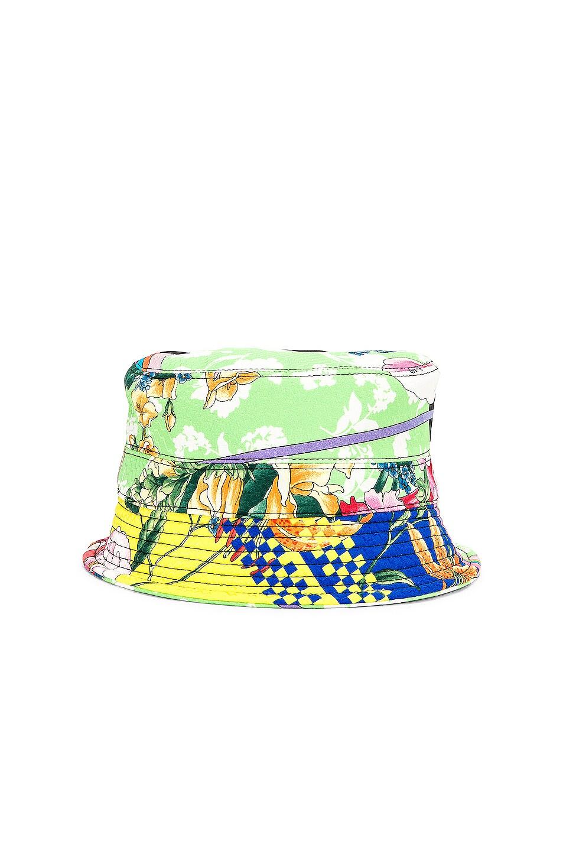 Image 5 of VERSACE Logo Print Bucket Hat in Multi