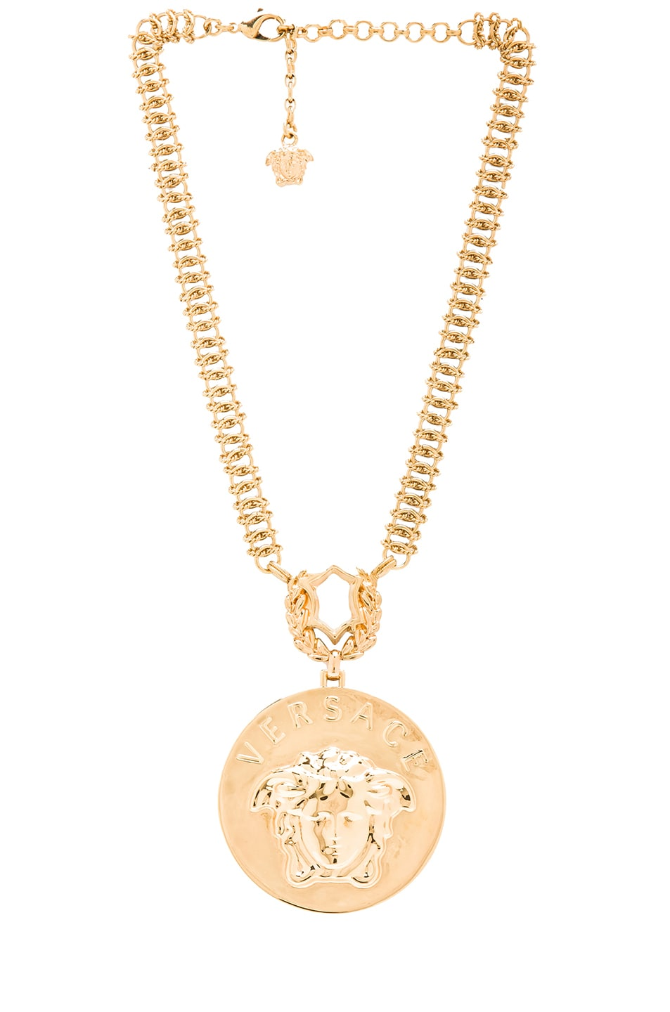 Image 2 of VERSACE Medusa Necklace in Gold