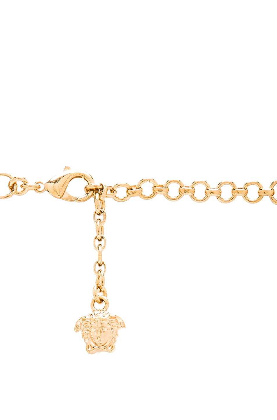 Image 3 of VERSACE Medusa Necklace in Gold