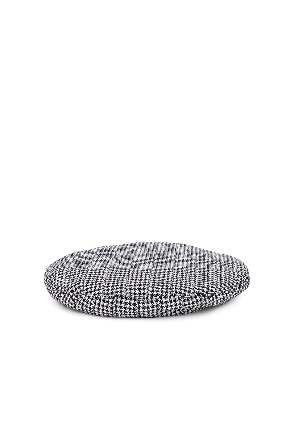 Image 1 of VERSACE Print Beret in Black & White