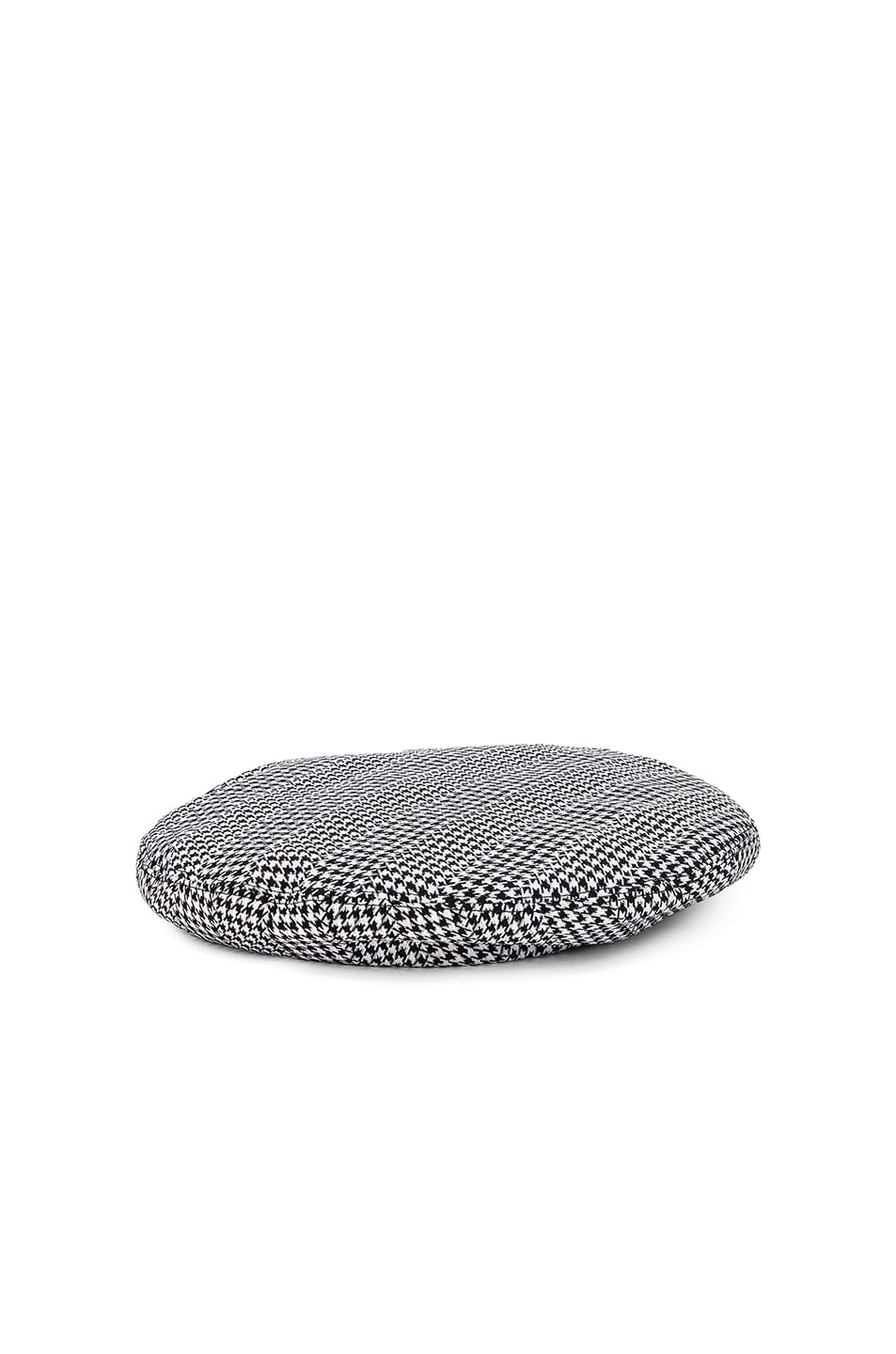 Image 2 of VERSACE Print Beret in Black & White